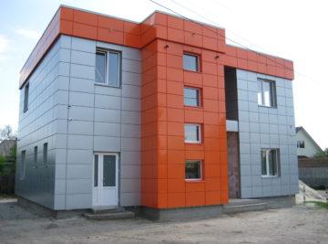 Оцинкованный фасад